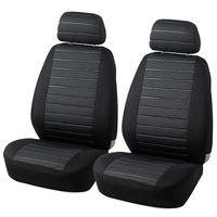 2PCS Automobile Front Seat Cover Universal Car Seat Protector Cover Car Styling Interior Decoration Accessories