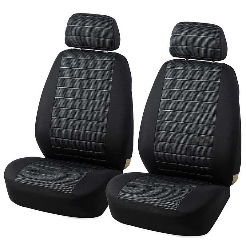 2PCS Automobile Front Seat Cover Universal Car Seat Protector Cover Car-Styling Interior Decoration Accessories cover cover pl44027 06