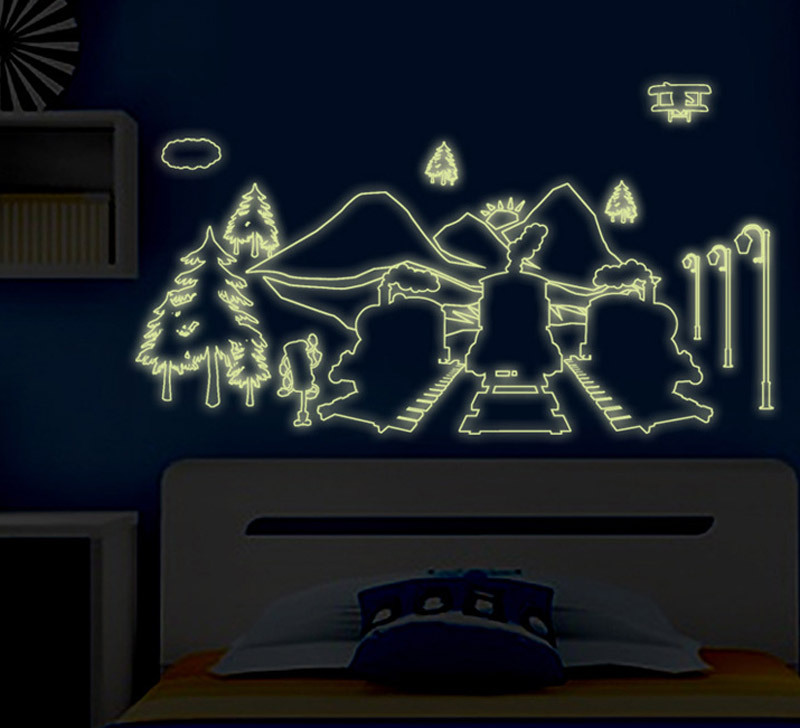 Perfect ... Superb Glow In Dark Wall Stickers Great Ideas ... Part 25