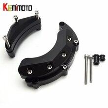 KEMiMOTO Para YAMAHA MT-09 MT09 MT 09, 2014-2017 Caso Protector Del Motor Protector de La Cubierta deslizante Set FZ-09 FZ 09 Trazador 900 XSR900 FJ-08