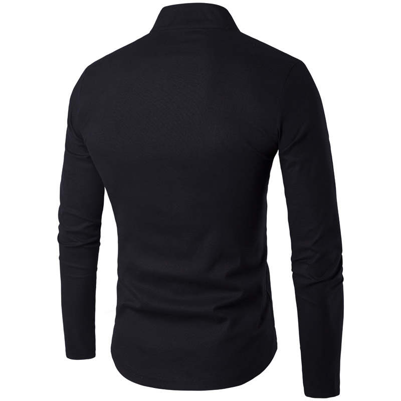 2915f5bf3 White Linen Shirt Men 2017 Brand Long sleeve Kung Fu Chemise Homme Classic  Chinese Style Tang Clothing Breathable Hombre Camisa-in Casual Shirts from  Men's ...