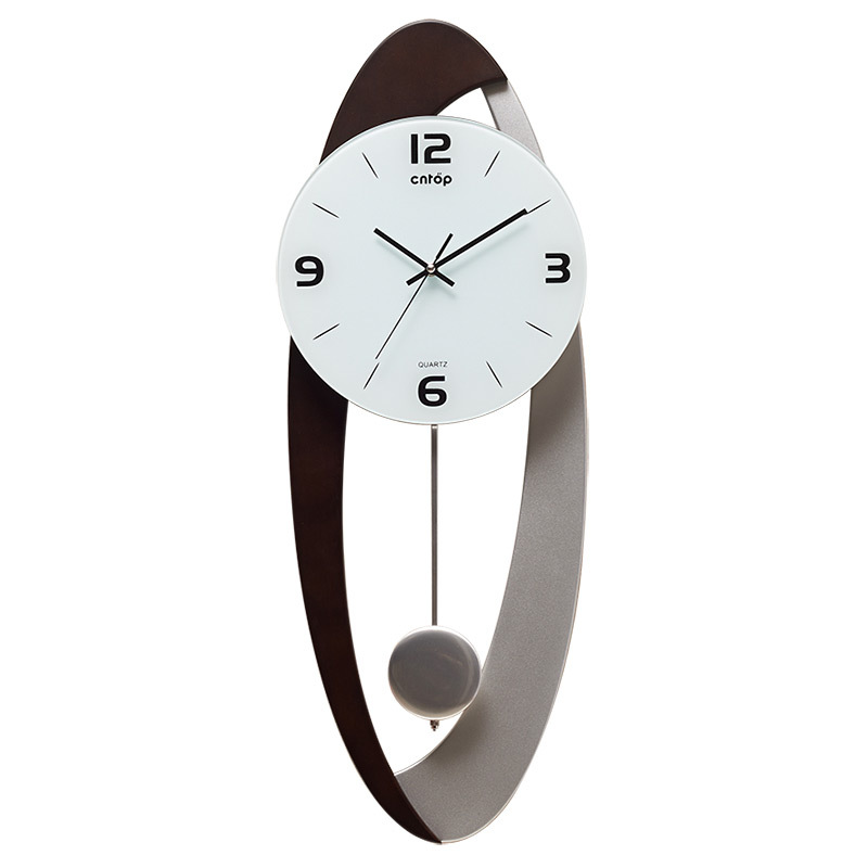 High Quality Creative Pendulum Clock Brief Fashion 3D Wall Decorations Living Room  Wall Watch  Wall Clocks Home Decor Dropship