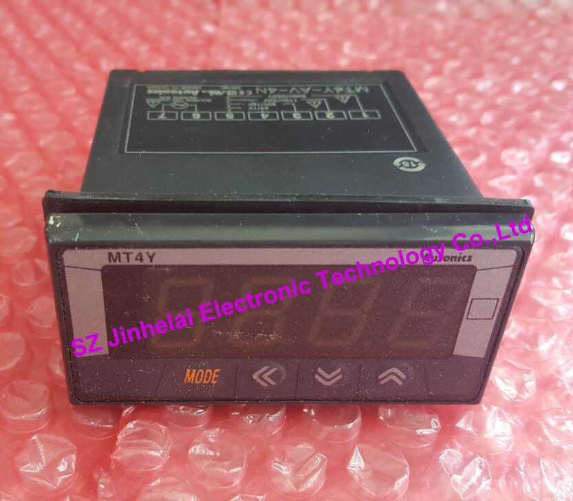 100% Authentic original MT4Y-AV-4N Autonics PANEL METER digital multi function panel table mt4y av 4n