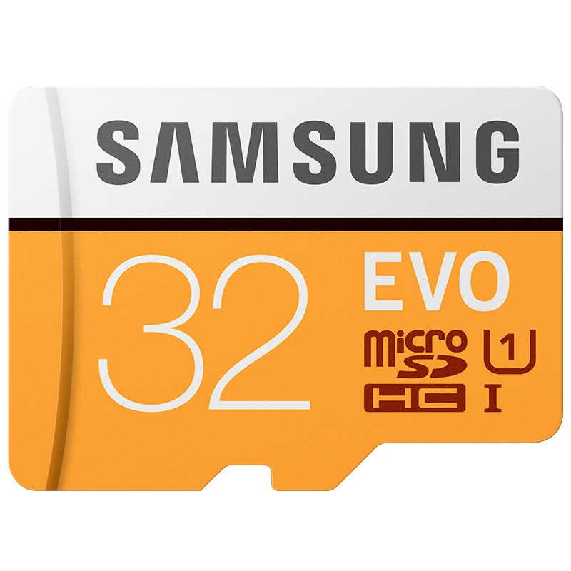 Карта памяти SAMSUNG Micro SD 256 ГБ 128 Гб 64 ГБ 32 ГБ 16 ГБ 8 ГБ C10 U3 4 K/U1 Microsd SDXC SDHC Flash TF карта бесплатная доставка