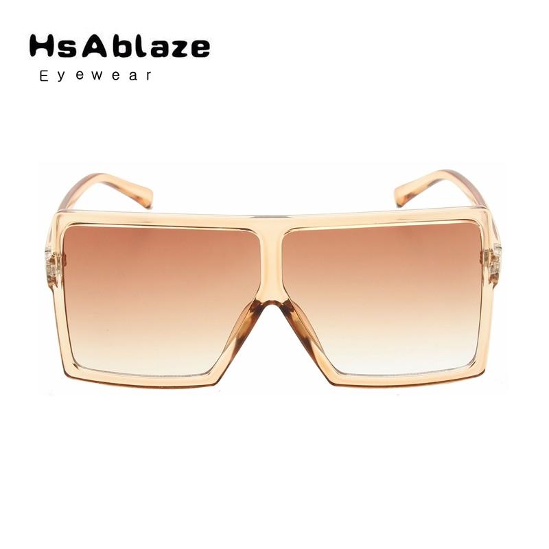 a03008c55a HsAblaze Eyewear Retro Square Sunglasses Men Women Brand Designer Glasses  ovsesized big frame Shades UV Protection Gafas-in Sunglasses from Apparel  ...