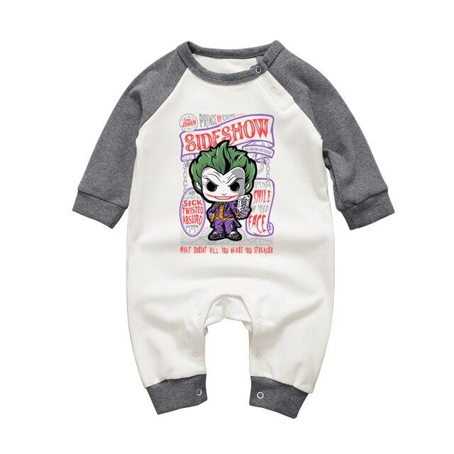 ef30263bda570 Nouveau-né bébé garçon filles chaud barboteuse Joker Cartoon infantile à manches  longues combinaisons ensemble
