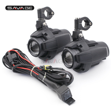 Universal Driving Aux Lights For BMW DUCATI KAWASAKI HONDA KTM SUZUKI TRIUMPH Front Head Light Waterproof