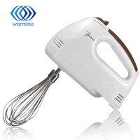 Electrical 7 Speed Handheld Fo Od Blender Double Whisk Eggs Mixer Batter Beater Kitchen Cake Baking