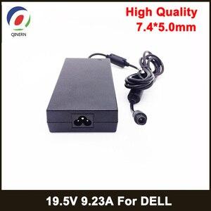 Image 1 - 180 ワット 19.5v 9.23A 7.4*5.0 ミリメートルラップトップアダプターdell precision M4600 M4700 M4800 alienware 13 R3 充電器電源DA180PM111