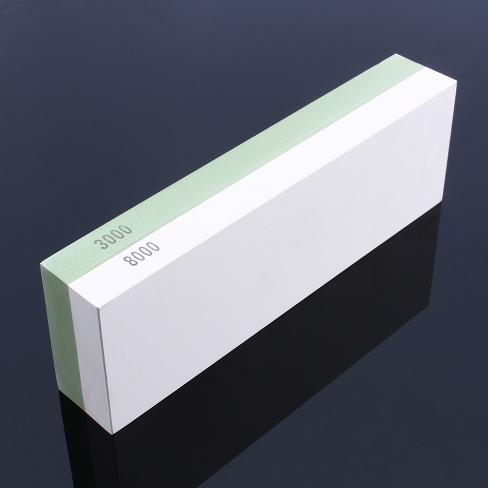 Hot Sale 3000&8000 Grit White Corundum Whetstone Knife Sharpening Stone Kitchen Knife Sharpener for Knives  цены