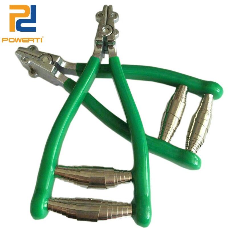 POWERTI Mini Pliers Badminton Tennis Racket Stringing Machine Starting Clamps Stringing Tools Grip Stringing Parts Green Color