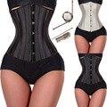 Boa qualidade 28 espiral de aço desossado espartilhos e corpetes underbust floral corsets trainer cintura cincher body shaper emagrecimento