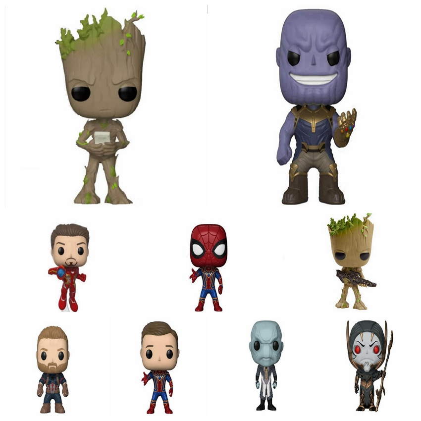 Figures Model Toy Avengers 3 Infinity War Thanos Captain America Iron Man Thor Spiderman Death Samur for Children Gifts With BoxFigures Model Toy Avengers 3 Infinity War Thanos Captain America Iron Man Thor Spiderman Death Samur for Children Gifts With Box