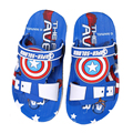 2016 Summer Boys Beach Sandals Captain America Spiderman Bathroom Kids Children Shoes Anti Skid Soft Boy Beach Sandals tyh-20783