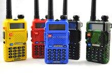 BAOFENG UV-5R 136-174/400-520Mhz Dual Band UHF/VHF Portable Two Way Radio Baofeng UV5R 5W 128CH Walkie Talkie
