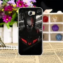 Superman Batman Spiderman Captain America Phone Case Cover for Huawei Y5 II Y6 ii MINI CUN-U29 Y5 2 Y5II Y5 2nd Y6 ii