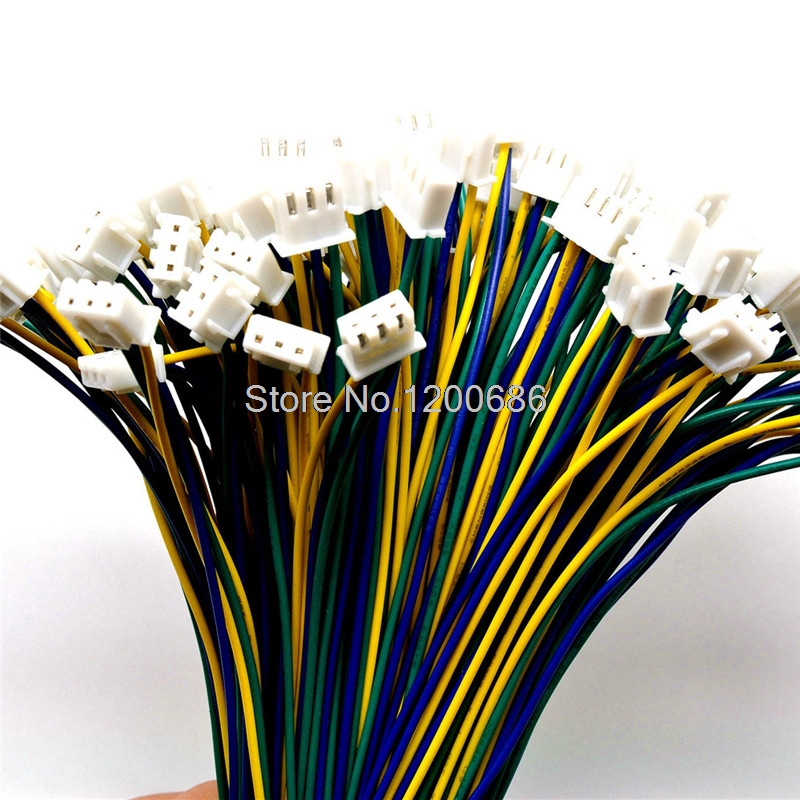 24AWG 3PIN XH2.54 connector 20CM wire harness XH 2.54mm 4P 24 AWGConnector  Plug With Wires Cables|Wiring Harness|Home Improvement - AliExpresswww.aliexpress.com