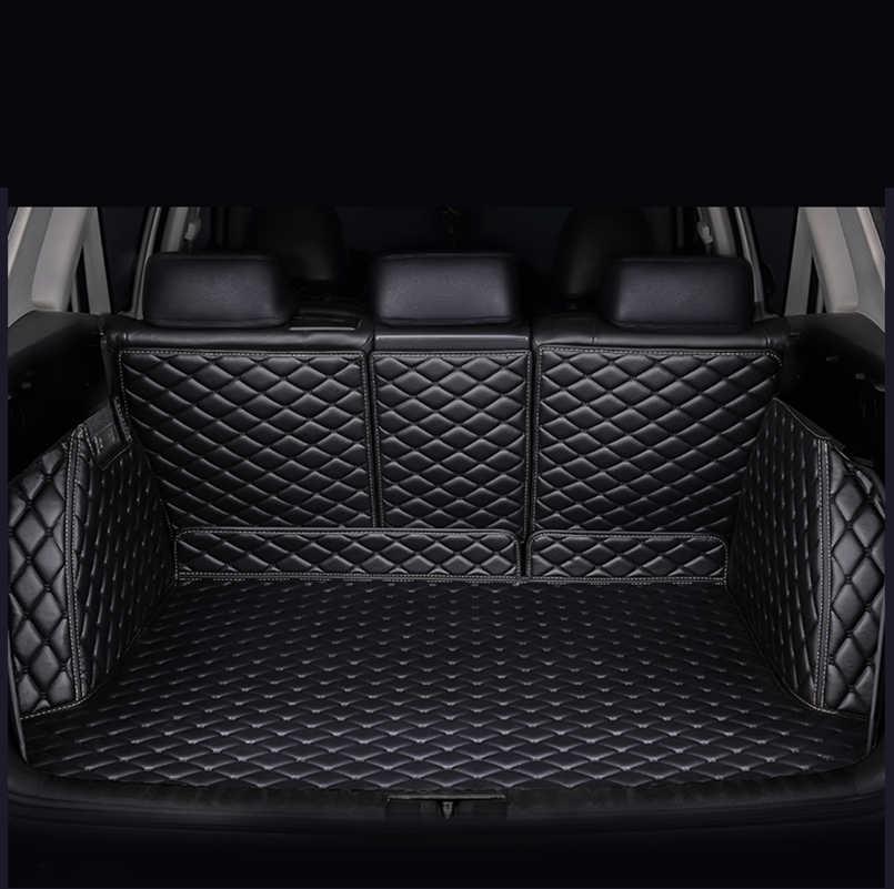 HeXinYan коврик для багажника автомобиля на заказ для Subaru все модели Forester XV Outback автомобильный Стайлинг авто аксессуары на заказ грузовой лайнер
