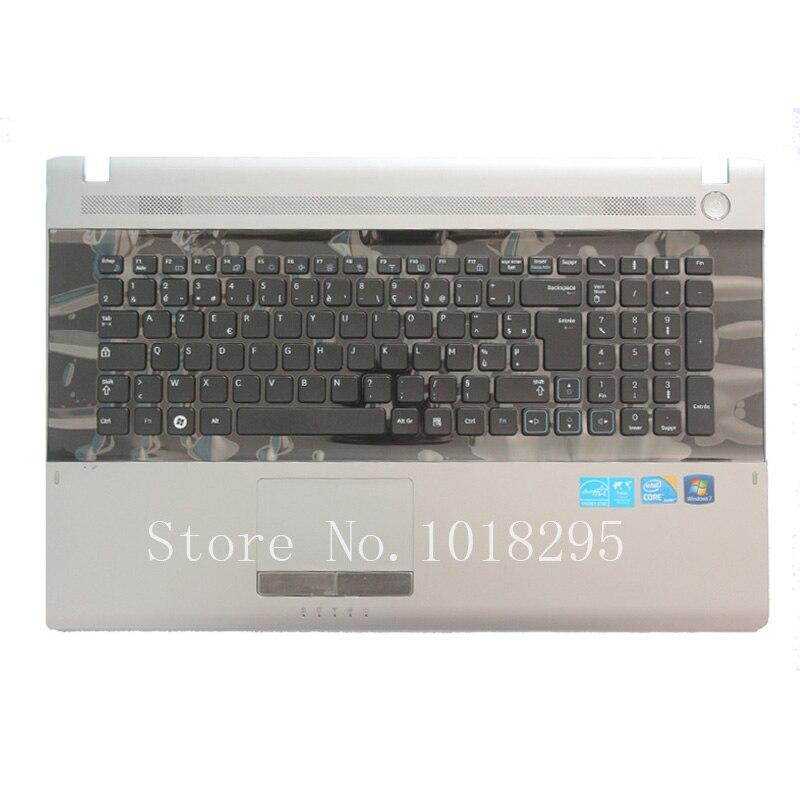 NEW french For Samsung NPRV711 NPRV710 NPRV720  RV711 RV710 RV720 keyboard FR laptop keyboard with C shell for samsung np530u3c np530u3b np535u3c 530u3b 530u3c np540u3 np532u3c np532u3a with c shell red canadian french keyboard