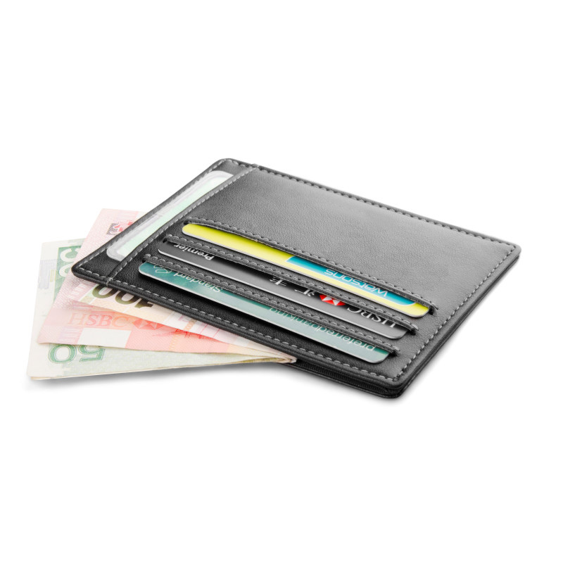 Gibo Auja - Brand New Genuine Leather Wallet Super Slim Card Holder Card Case Money Organizer Short Travel Men Clutch Clutch
