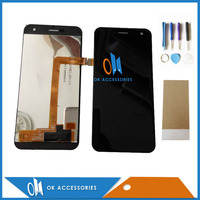High Quality Black Color For Wileyfox Spark LCD Display Touch Screen Digitizer With Tools Tape 1PC