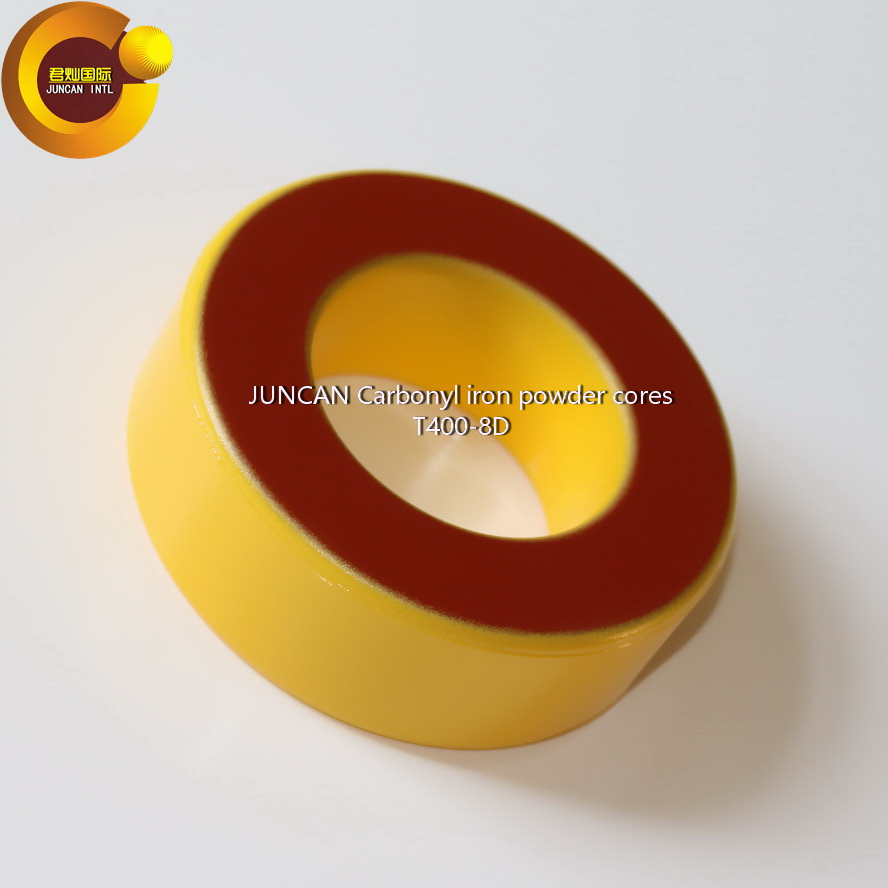 T400-8D  Carbonyl iron powder cores, high frequency radio frequency magnetic core