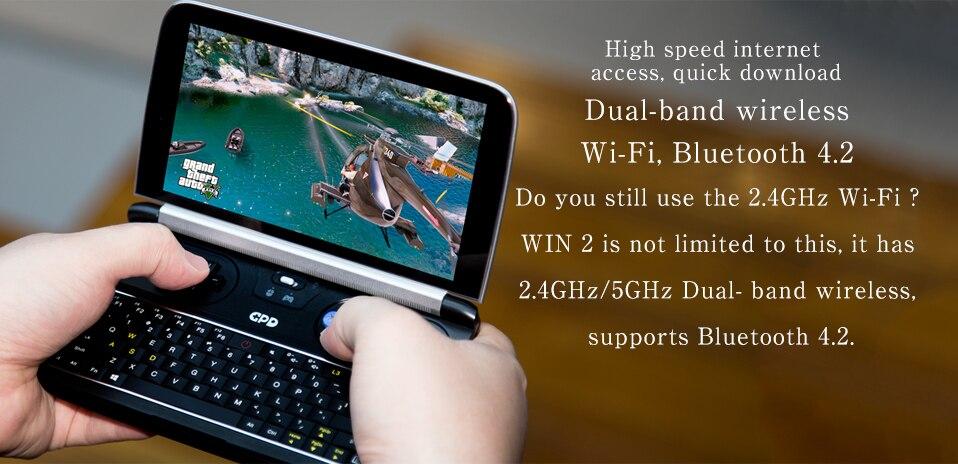 GPD Mini Gaming Laptop Windows 10 Touch Screen 8GB Intel 6 Inch 13