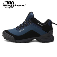 2017 Editex New Outdoor Men Hiking Shoes Breathable Waterproof Climbing Sport Shoes Breathable Anti-skid Sneakers Men Boots