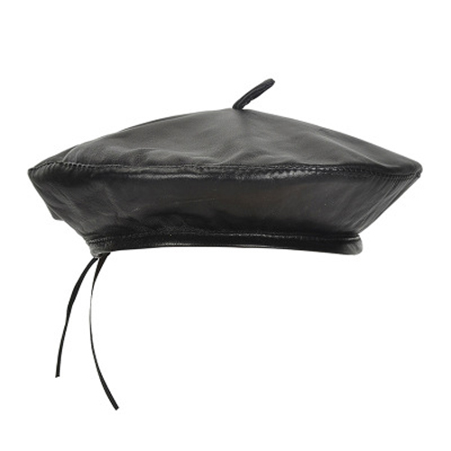 Women Real Leather Berets...
