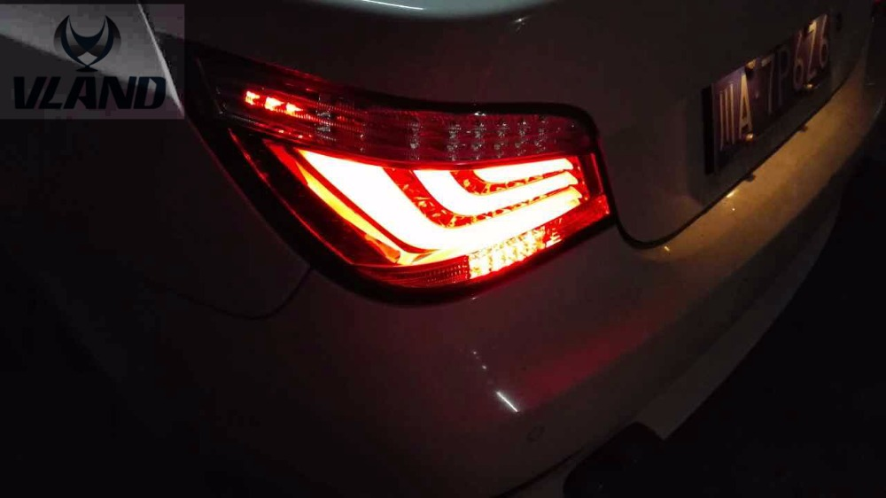 Free shipping for car Rear lamp for BMW for E60 tail light 520LI 523LI 528LI 530LI LED LED taillight 2004 to 2007 year