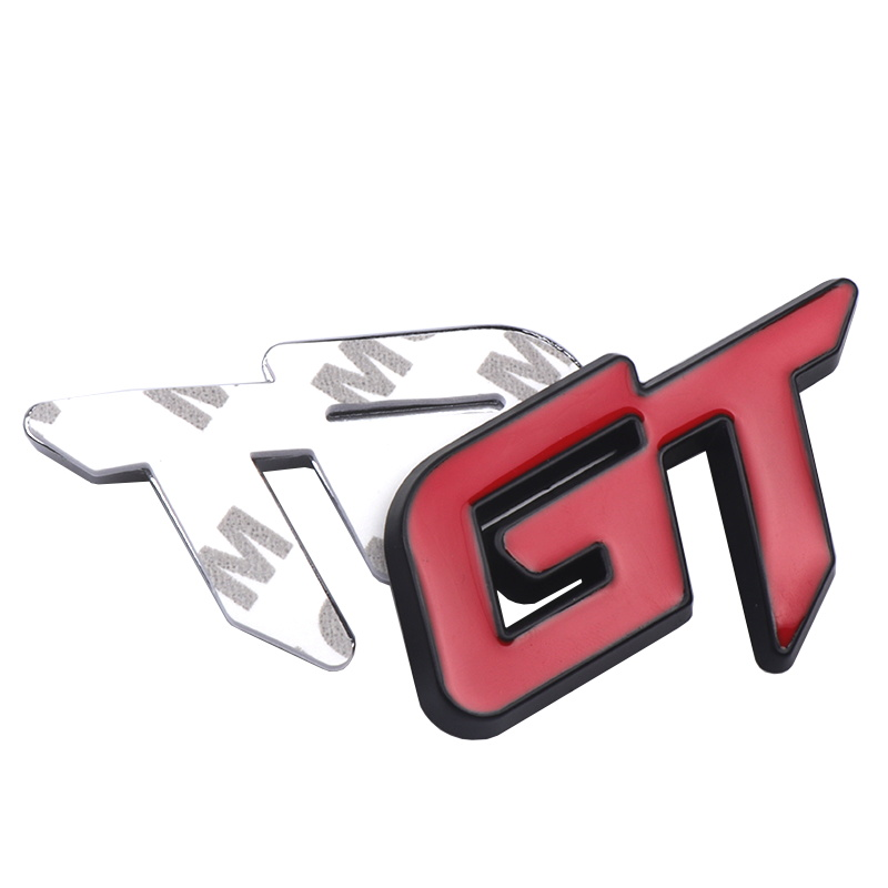 Image 5 - Car Styling 3D Metal GT Emblem Car Front Grille Badge Decal Stickers Accessories For Ford KIA Volkswagen Honda Auto Accessories-in Car Stickers from Automobiles & Motorcycles