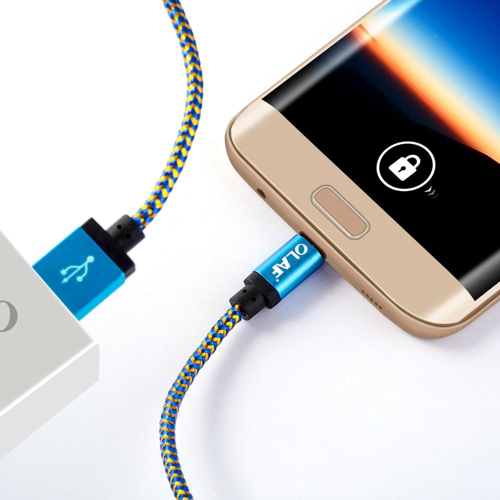 Olaf Nylon Micro Usb Kabel 1 M 2 M 3 M Schnelle Lade Daten Sync Handy Android Usb Ladegerät Kabel Für Xiaomi Samsung Huawei Lg Handys & Telekommunikation Handy Kabel