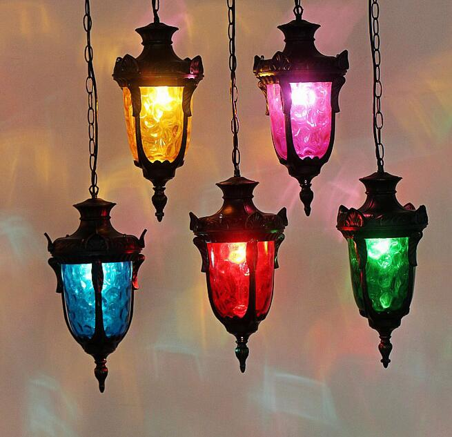 The clothing store one diffuse coffee stained glass bar restaurant seat single head tea creative art pendant light ZH neon sign for donuts bar cakes cave real glass tube beer pub restaurant signboard store display shop light signs 17 14