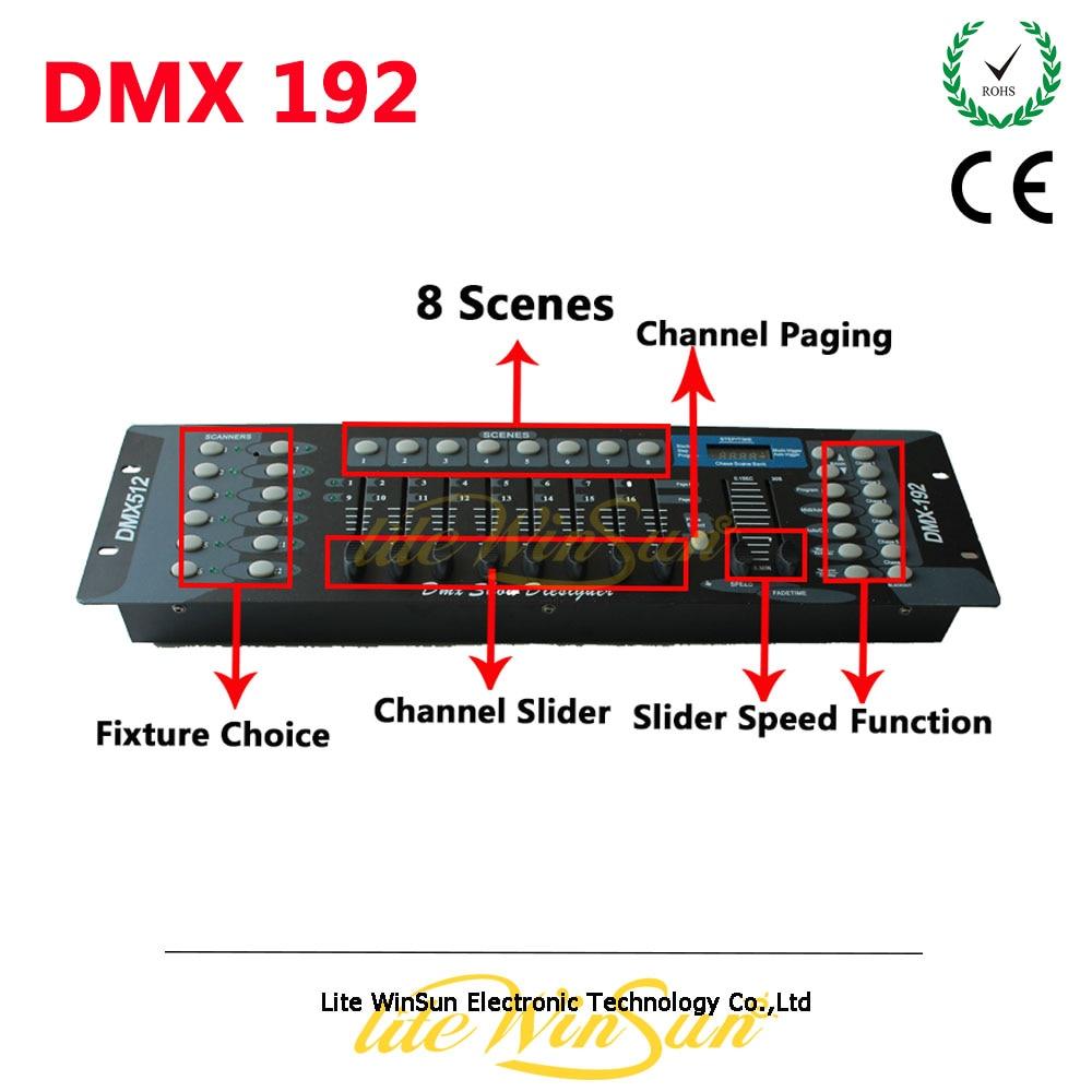 Litewinsune DMX 192 Mini DMX Console DMX 512 1990 Stander pro Show Disco Party Show