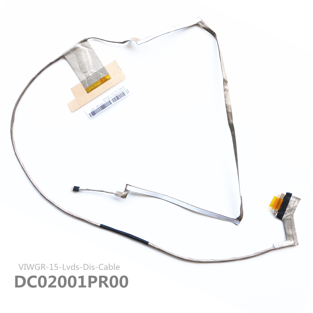 New Original DC02001PR00 Lcd Video Cable FOR LENOVO G500 G505 G510 Video Lcd Lvds Video Cable new original lenovo g500 g505 g510 15 6 base cover bottom cover ap0y0000700