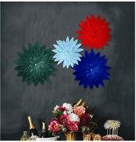 24 Cali DIY 3D Papieru Kwiat Styl B Birthday Party Supplies Shower Party Ślubna Tle Dekoracji