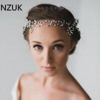 Kristall Perlen Pageant Kopfschmuck Blumen Braut Haar Strass Prom Kopfschmuck Brautjungfer Mädchen Hochzeit Haarschmuck HP34