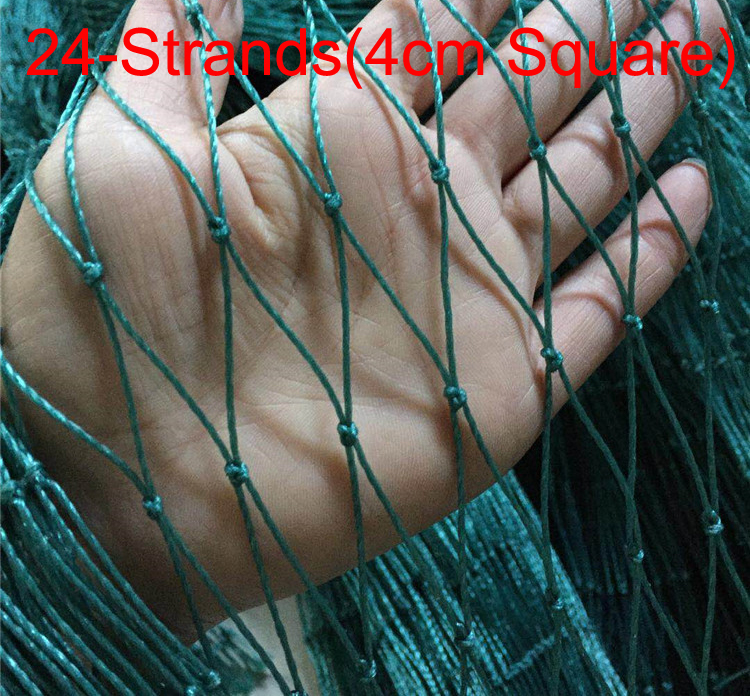 24-Strands Heavy Anti Bird Netting Deer Fence Garden Fence And Crops Protective Fencing Mesh Anti Bird Deer Cat Dog Chicken Net