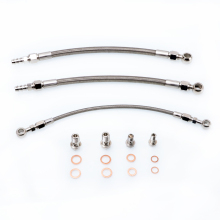 Kinugawa Turbo Oil and Water Line Kit for Mitsubishi 4G63T EVO 4~9 w/ for Garrett T3 / T4R
