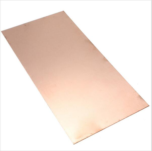 1pc New 99.9% Pure Copper Cu Metal Sheet Plate Foil Panel 150*100*0.8mm For Industry Supply
