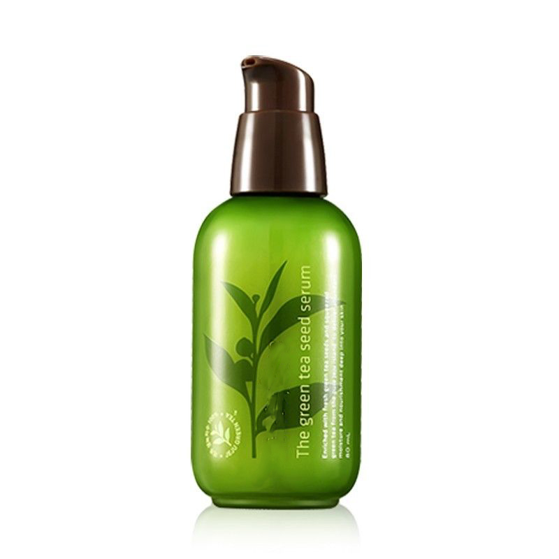 Original Korea Cosmetics The Green Tea Seed Serum 80ml Face Cream Serum Whitening Moisturizing Anti-aging Natural Facial Cream premium биотоник с зеленым чаем салонная косметика премиум premium green tea moisturizing
