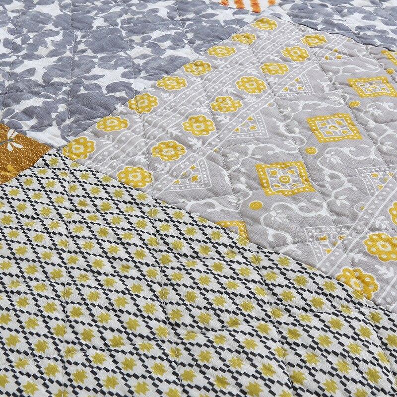 Sommer Bettdecke Baumwolle Quilt 1 Stück Patchwork Bettdecke Gewaschen Quilts Bettdecke Bettwäsche Stepp Bettwäsche Königin größe Decke-in Decken aus Heim und Garten bei  Gruppe 2