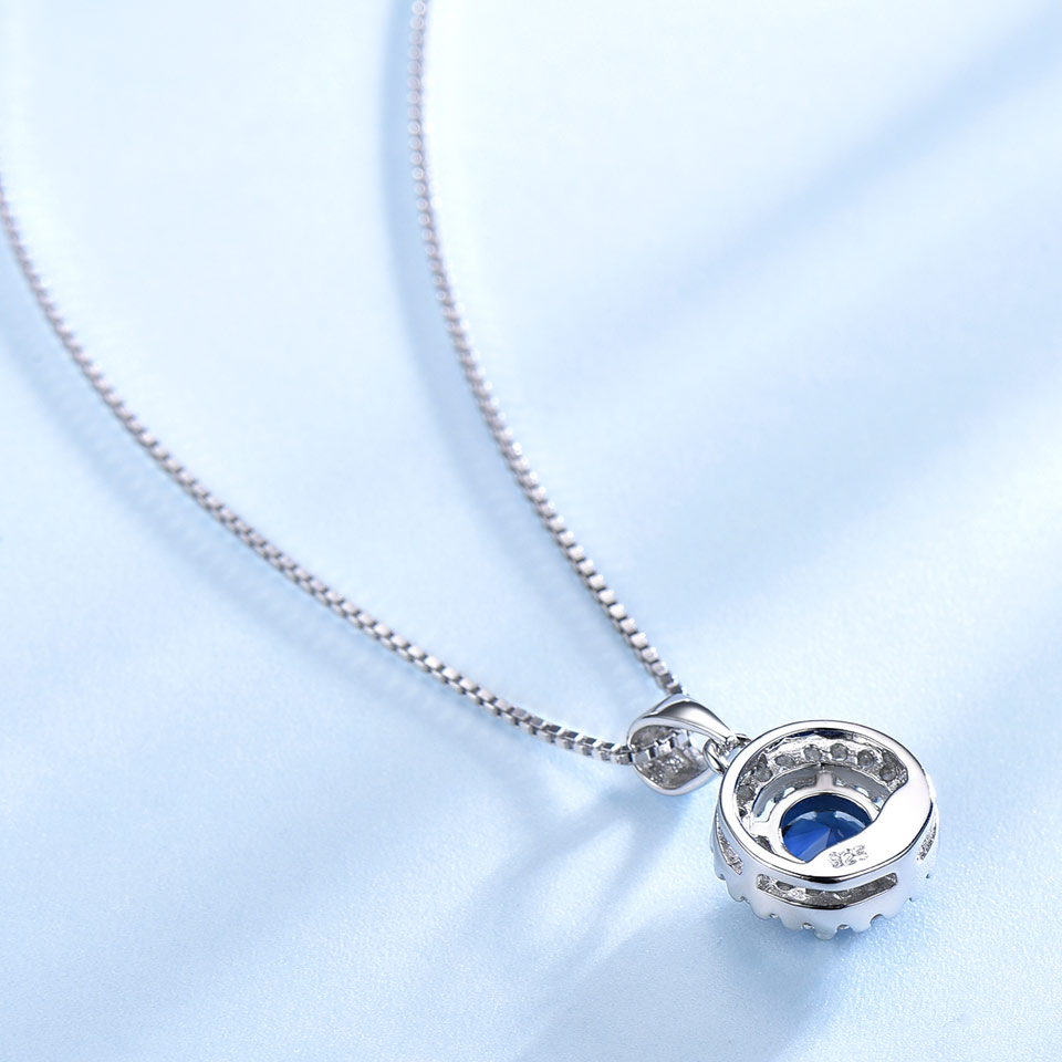 UMCHO 925 ստերլինգ արծաթյա զարդեր, որոնք - Նուրբ զարդեր - Լուսանկար 3