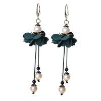 New 925 Silver Hook Sterling Earrings for Women Jewelry Hanging Gift 2018 Fashion Earrings