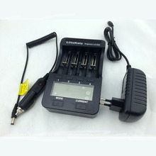 Liitokala lii-500 LCD Charger+12V adapter+Car charger For 3.7V 18650 26650 18500 Lithium Batteries,1.2V AA AAA Ni-MH Battery