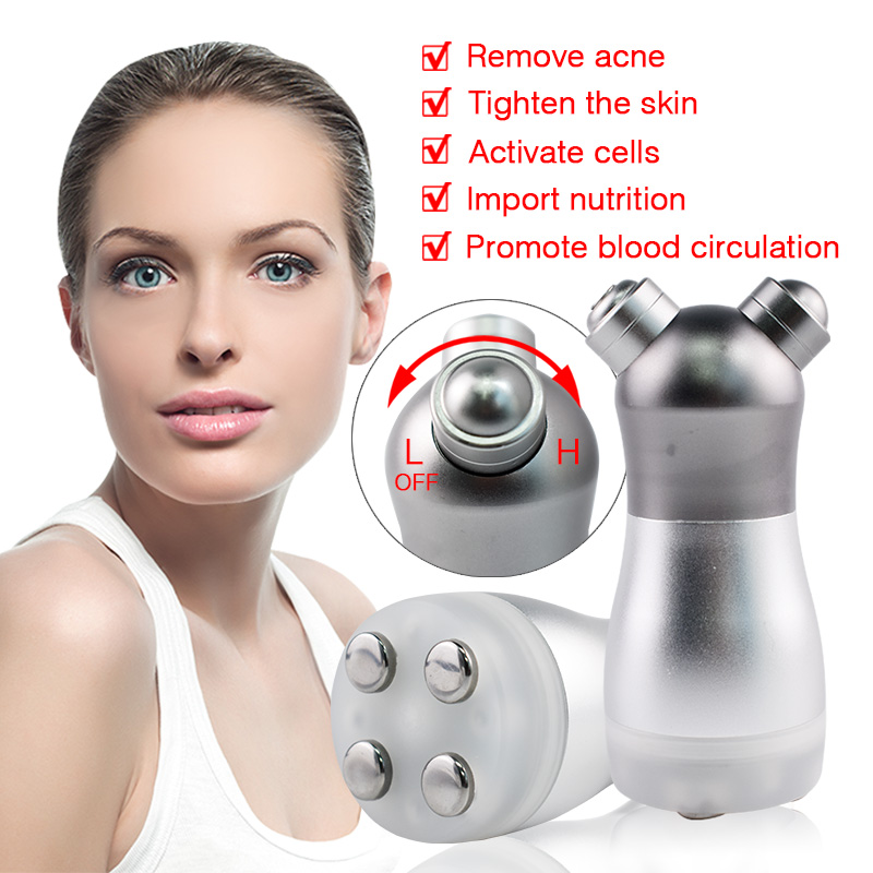 RF Radio Frequency No Needle Mesotherapy Mesoporation Facial Photon LED Light Skin Rejuvenation Face Lift Massager Beauty Care