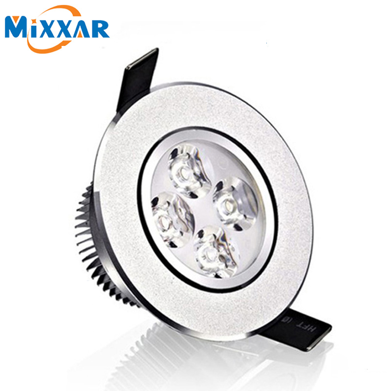 RU LED Spotlight Wholesale 12W Ceiling downlight Epistar LED ceiling lamp Recessed Spot light AC85-265V led bulb light ru relief ceramic manufacturers wholesale tea caddy sealed cans italics opening film ru support custom logo