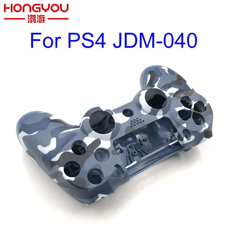 5pcs Replacement Camouflage Housing Shell Case Cover For Playstation 4 Pro PS4 Pro Controller JDS 040