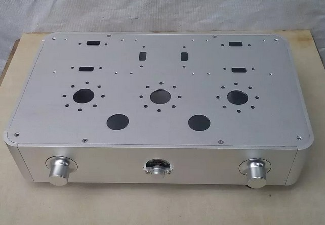 Rckj new amp case tube amplifier enclosure chassis for Chassis aluminium