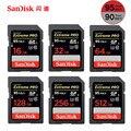 SanDisk 95MB/s SD Card for Camera 256GB 128GB 64GB 32GB 16GB Memory Card U3 U1 4K Flash Card for Camera Flash Card PC SDXC SDHC